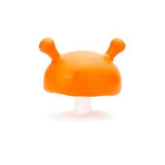 De paddestoel fopspeen vorm huid als baby kalmerende bijtende speelgoed voor baby's