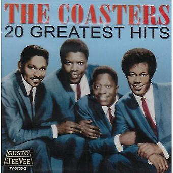 Coasters - 20 Greatest Hits [CD] USA import