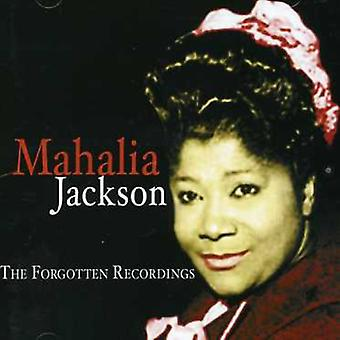 Jacksonmahalia - vergeten opnames [CD] USA import