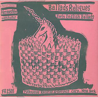 Hermes Nye - Early English Ballads From the Percy & Child Colle [CD] USA import