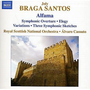 Braga Santos - Joly Braga Santos: Alfama [DVD] USA import