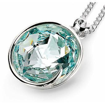 925 zilveren Swarovski kristal ketting