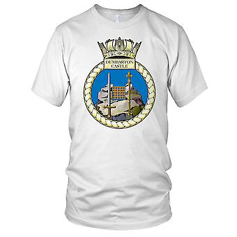 Royal Navy HMS Dumbarton Castle Kids T Shirt