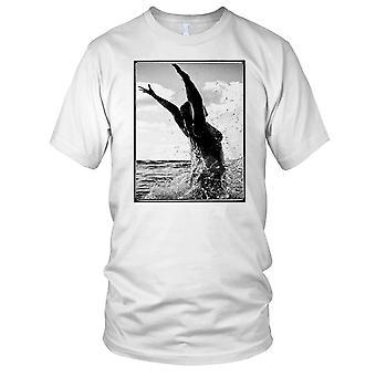 Surf jente i bølger - Surfing Surf Beach damer T skjorte