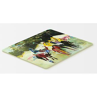 Carolines Treasures  JMK1007CMT Polo at the Point Kitchen or Bath Mat 20x30
