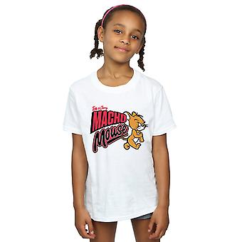 Tom And Jerry Girls Macho Mouse T-Shirt
