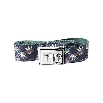 Spiral Grass Camo Webbing Belt in Camo