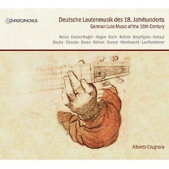 Weiss/Kellner/Falckenhagen/Straube/Bach/Daube/Kuhn - Deutsche Lautenmusik Des 18. Jahrhunderts [CD] USA import