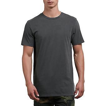 Volcom bleg vask solid kortærmet T-shirt i sort