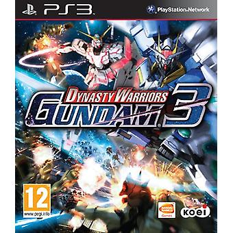 Dynasty Warriors Gundam 3 (PS3)-fabriken förseglad