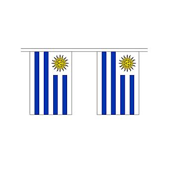 Uraguay Girlande 6m 20 Flagge