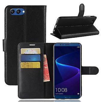 Pocket tegnebog premium sort for Huawei honor Se 10 / V10 beskyttelse ærme tilfælde dække pose nye