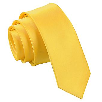Marigold oformaterad Satin smal slips