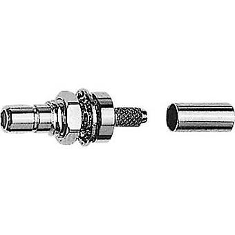 SMB-liitin pistoke, mount 50 Ω Telegärtner J01160A0399 1 PCs()