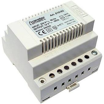 Comatec TBD2/018.12/F4 Rail mounted PSU (DIN) 12 V AC 1.5 A 18 W