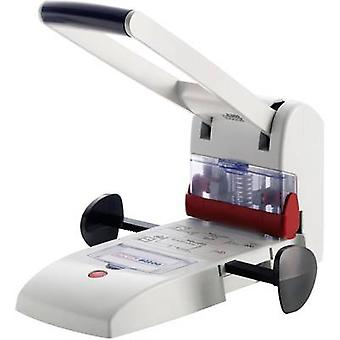 Novus 025-0488 Super Punch B2200 licht grijs selecteerbaar papierformaat (max.): A4 200 vellen (80 g/m²)