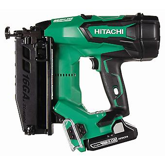 Hitachi HiKOKI NT1865DBSL Brushless Finish Nailer Kit (Straight)