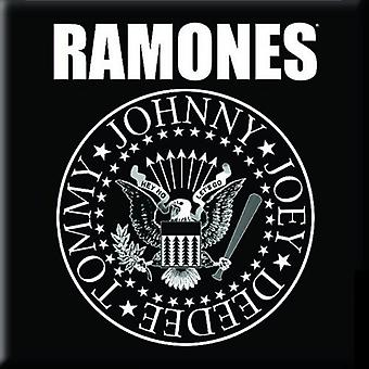 Ramones Fridge Magnet Presidential Seal band logo new Official 76mm x 76mm