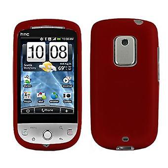 Evercell Designer Case for HTC Hero - Dark Red / Merlot