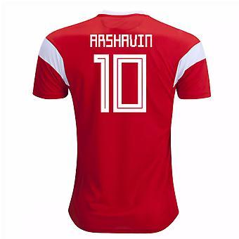 2018-19 Russia Home Shirt (Arshavin 10)