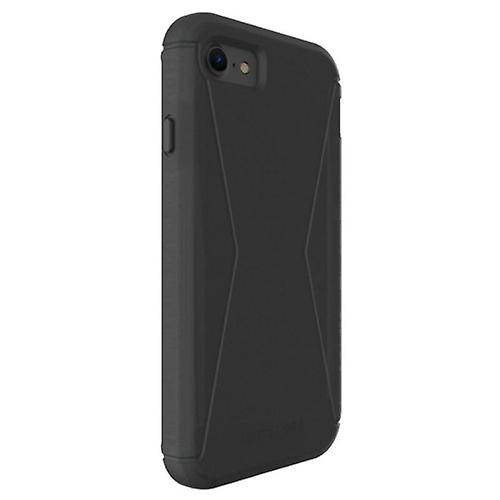 Tech21's Evo tactical extreme edition cover with Holster FlexShock for Apple iPhone 7/8 - black