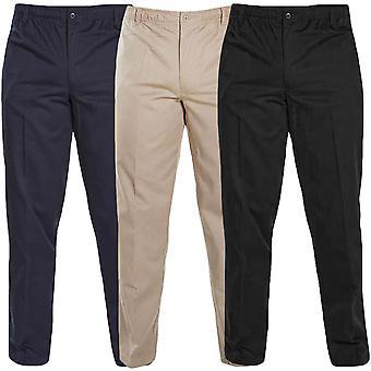 Duke D555 Mens Basilo Elasticated Rugby Trousers Bottoms Pants