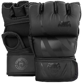 Venum Challenger 4 oz. MMA handschoenen zonder duim - zwart/zwart