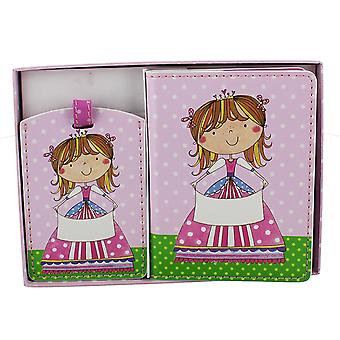 Rachel Ellen Passport Cover and Luggage Tag