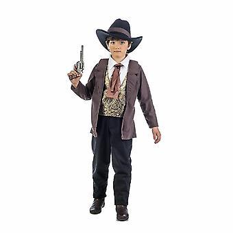 Cowboy Luke jongens kostuum westerse held kind kostuum