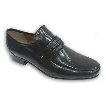 Kensington Classics Mens Leather Gusset Shoes
