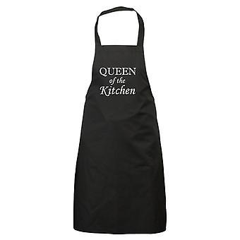 ملكة المطبخ أسود المئزر
