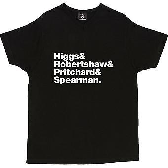 Alles Line-Up V-Ausschnitt schwarz Frauen's T-Shirt