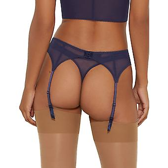 Gossard 7712 vrouwen Superboost Lace Eclipse Blue jarretelles