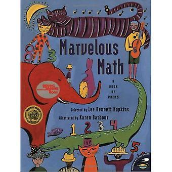 Ihmeellinen matematiikka: Kirja runoja (Aladdin kuvan kirjat)