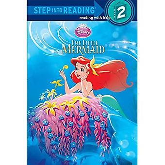 Le petit pas de sirène dans la lecture (princesses Disney)