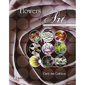 Kwiaty w sztuce: współczesnych artystów międzynarodowych
