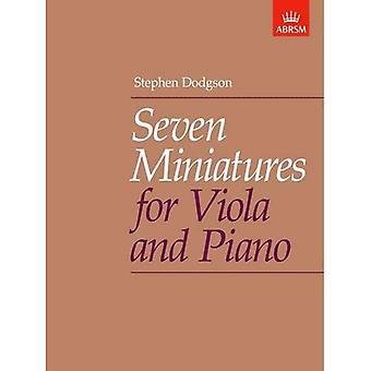 Siedem miniatur na altówkę i fortepian