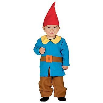 Pikkulapsille kääpiö Gnome naamiaispuku puku