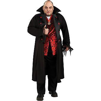 Vampire de luxe manteau adulte