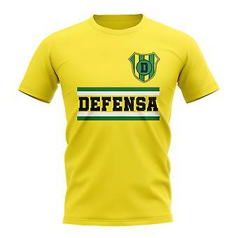 Defensa y Justicia Core fotboll klubb T-Shirt (gul)