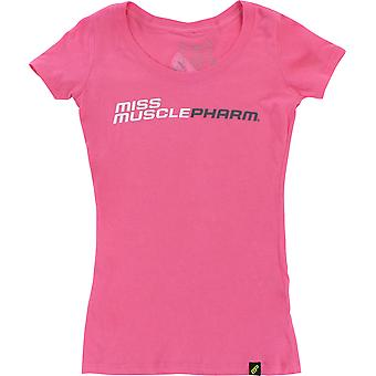MusclePharm Womens Miss MusclePharm T-Shirt - Pink