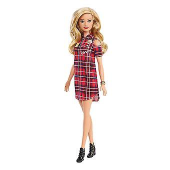 Barbie GBK09 fashionistas muñeca, remendado jugado rubia