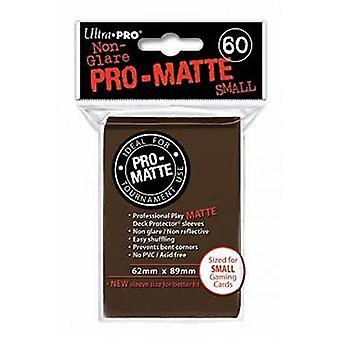 Ultra Pro Matte D10 jogo de cartas mangas pequenas-Brown