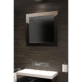Doskonale odzwierciedla Rgb LED łazienka Infinity lustro K214Rgb