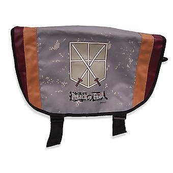 Messenger Bag - Attack on Titan - Cadet Corps (Text Logo Ver. 2) ge11637