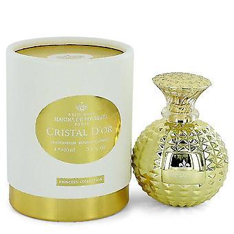 Cristal d'or eau de parfum spray by marina de bourbon 545134 100 ml