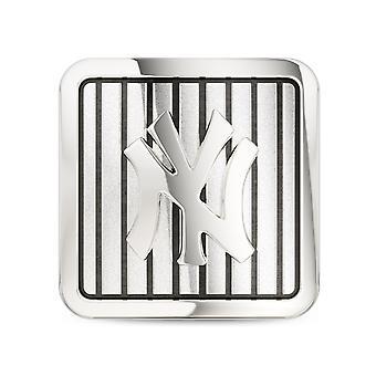 New York Yankees Pinstripe Logo Pin