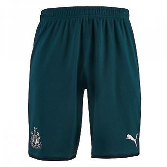2019-2020 Newcastle Away Football Shorts (Green)