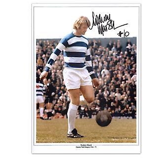 Rodney Marsh firmado QPR foto