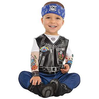 Amscan Biker Disguise (Babies and Children , Costumes)